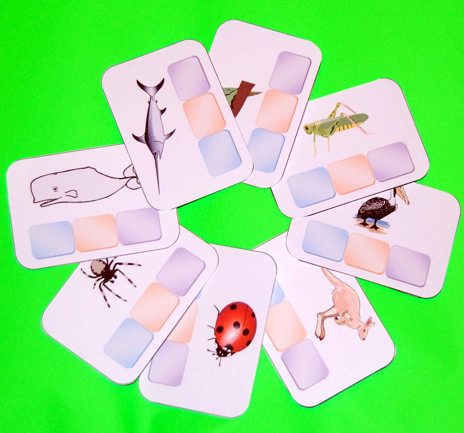 cartes_jeux méli-mélo-animaux