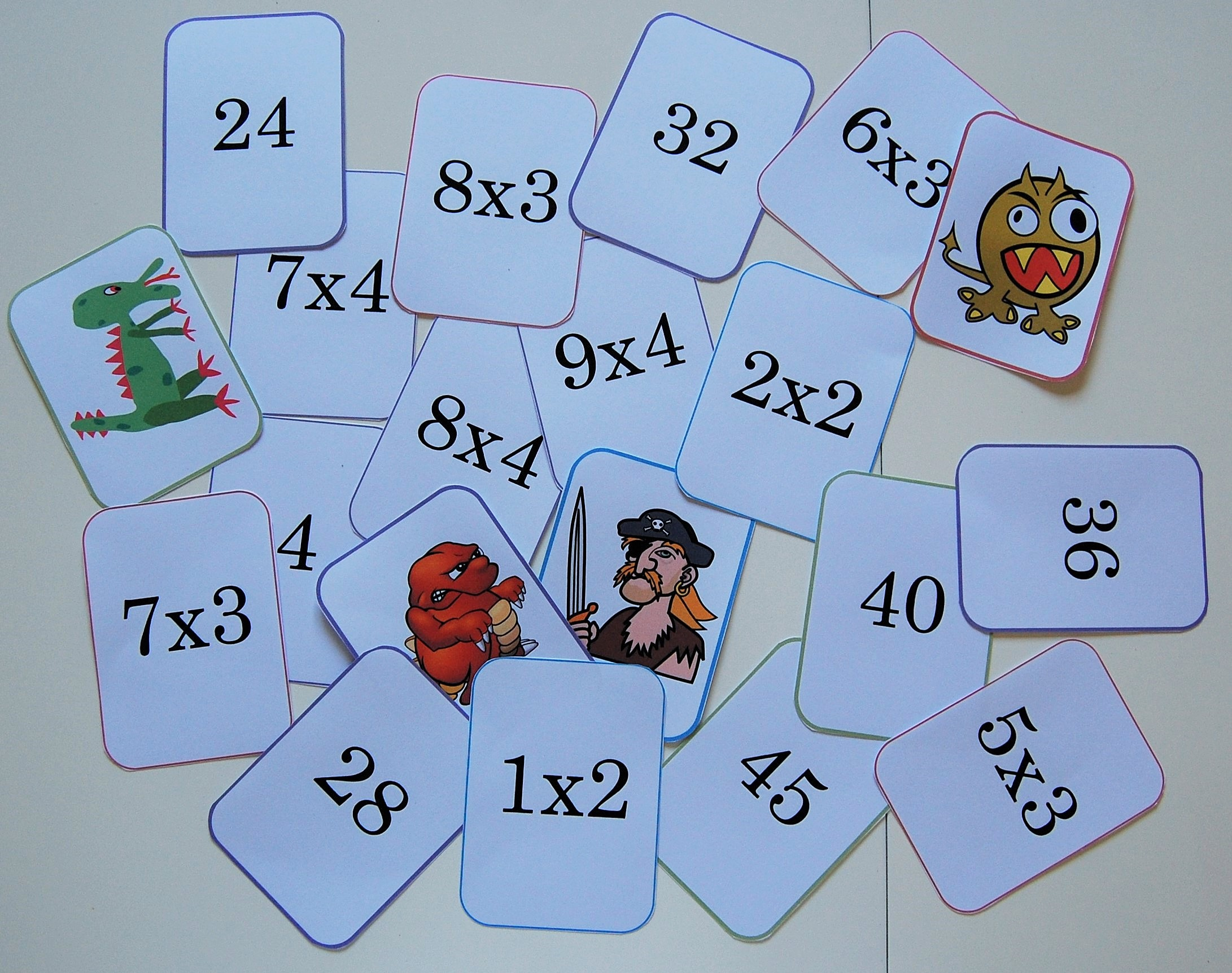 Mistigris des tables de multiplication 1 lire crire for Jeu sur les multiplications