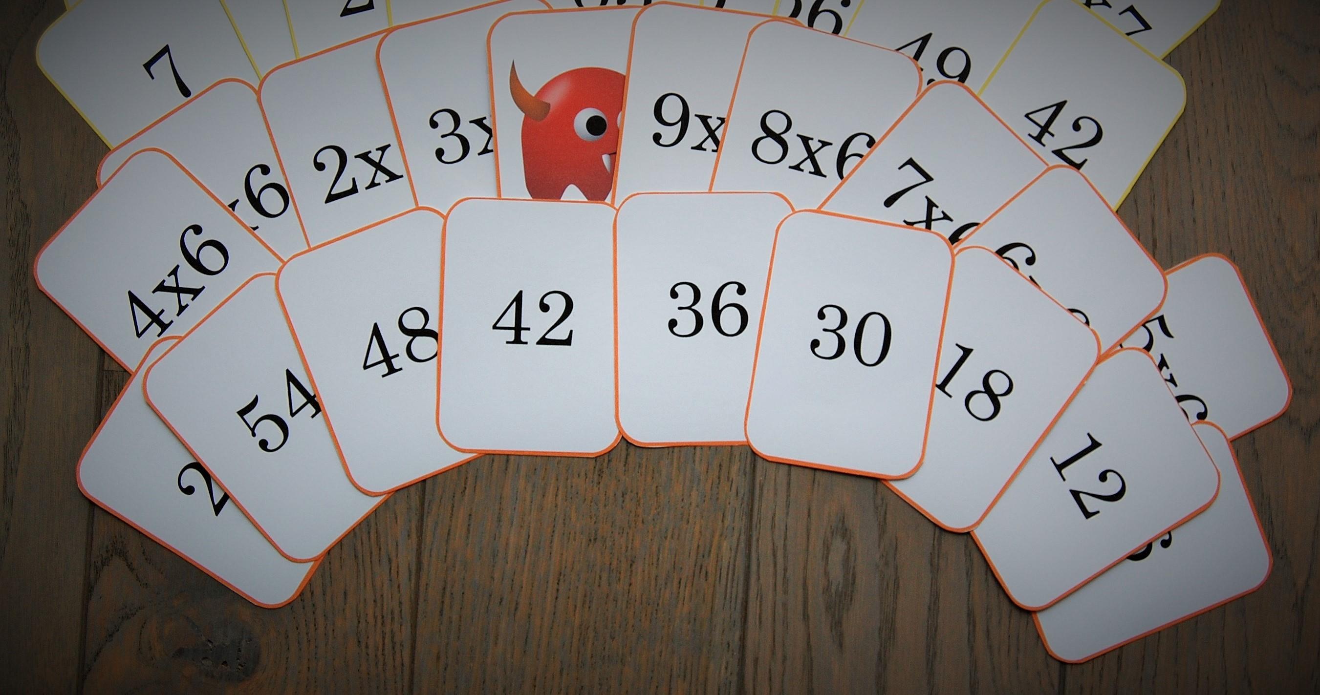 Mistigris des tables x6 x7 x8 x9