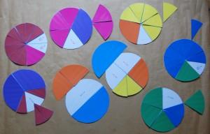 fractions à manipuler
