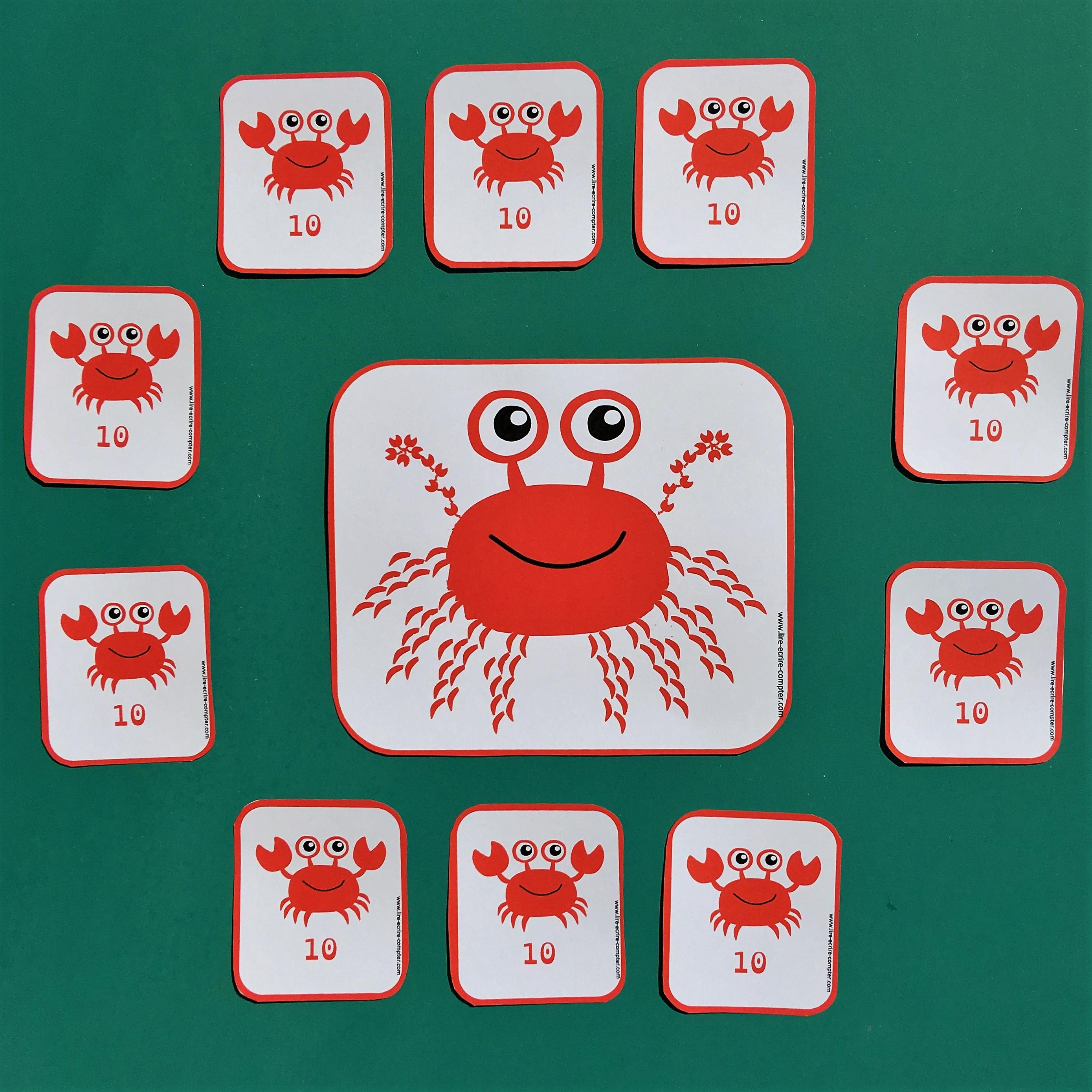Le crabe aux 100 pattes
