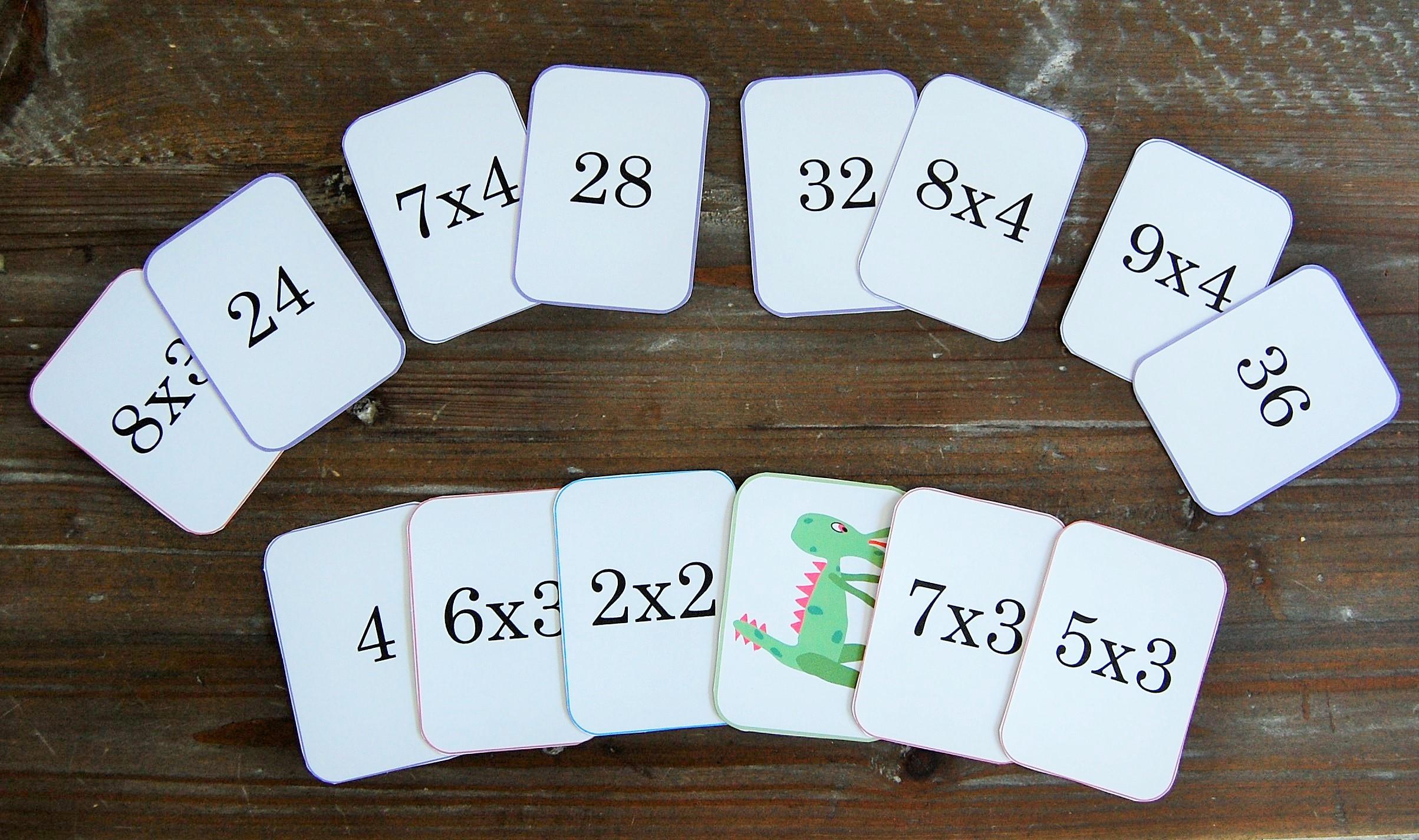 Mistigris des tables de multiplication 1 lire crire - Jeux pour apprendre les table de multiplication ...