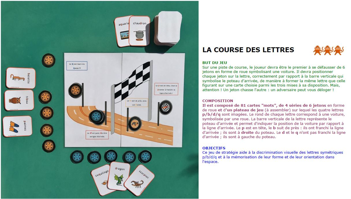 course a pied 3 lettres